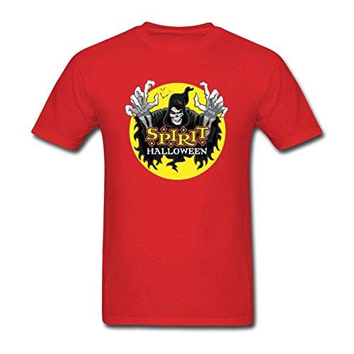 Men's Halloween Short Sleeve T-Shirt]()