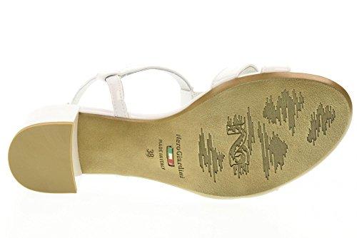 NERO GIARDINI zapatos de las sandalias P717610D / 707 Color blanco