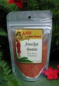 Aloha Spice Company `Alaea Red Hawaiian Sea Salt (Coarse) 2 Pack
