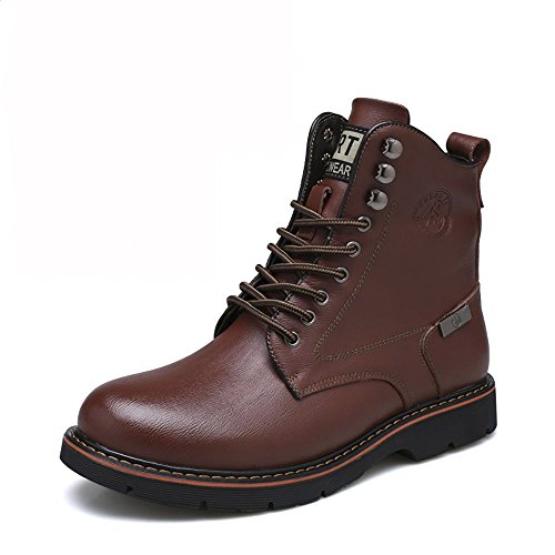 Unisex 8634 boot Stivali XBXB inverno 5 Adulto single Stivali Pelle Scarpe Da Moda brown caviglia Neve qxqnP4Y