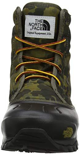 Verde The Print Macrofleck tarmac 8hn Face Men's Uomo Neve Da North Green tarmac Tsumoru Stivali Boot qqzprO