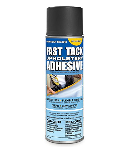 ForceField Fast Tack Upholstery Adhesive Professional Strength 12oz Spray (Adhesive Tack Spray Fast)