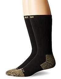 Carhartt Men's Full Cushion Steel-Toe Cotton Work Boot Sock 2-Pack