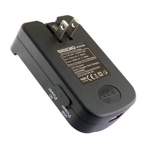 - Seidio Multi-Function Battery Charger for Use with HTC Droid Incredible, HTC EVO 4G, Droid Eris and Touch Pro 2