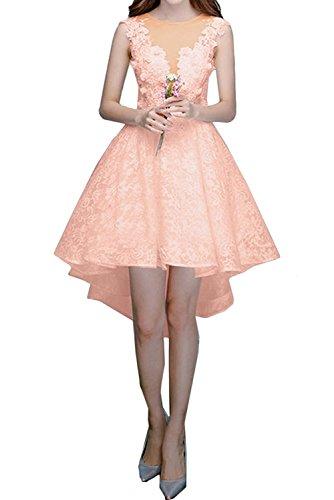 Abendkleider Brautjungfernkleider Kurzes Damen Rock Lilac Braut Marie Spitze Pfirsisch A lo La Cocktailkleider Linie Hi 0qgfF
