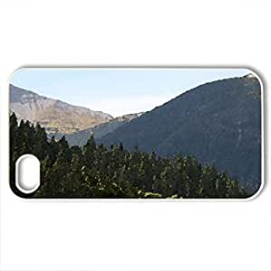 A bend tree in the forests - Case Cover for iPhone 4 and 4s (Forests Series, Watercolor style, White) by icecream design
