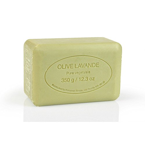 Soap Bar Olive (Pre de Provence Soap Shea Enriched Everyday Extra Large French Soap Bar (350 Gram) - Olive Oil and)