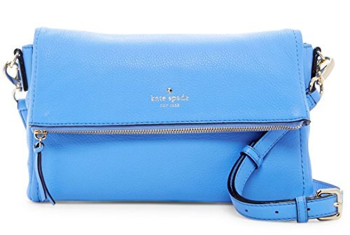 Kate Spade Women's Cobble Hill Marsala Leather Shoulder Baguette - Aliceblue by Kate Spade New York