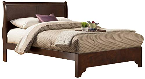 Alpine Furniture West Haven Sleigh Bed, King Size