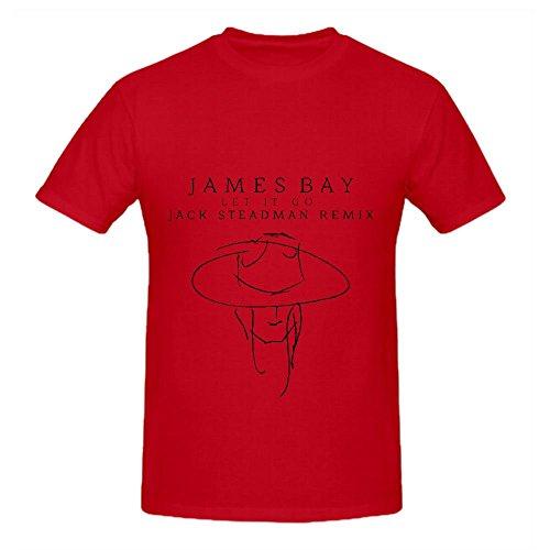 James Bay Let It Go (jack Steadman Remix) Tour Funk Mens Short...