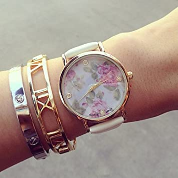 Relojes Hermosos, Flores del vintage relojes para las mujeres, para mujer relojes, relojes