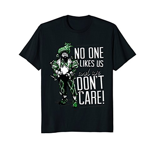 No One Likes Us We Don't Care Philly Football T-Shirt (For Men Philly Women)