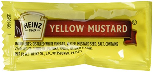 Price comparison product image Heinz Mild Mustard - 200 case