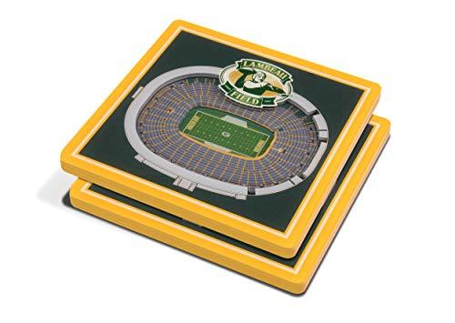 NFL Green Bay Packers 3D StadiumViews Coasters