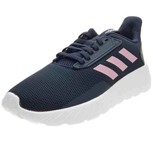 adidas Unisex-Kinder Questar Drive Gymnastikschuhe Blau (Collegiate Navy/light Pink/ftwr White)