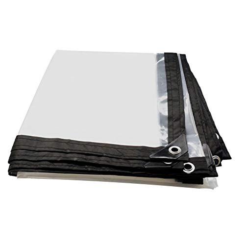 時代溝トピックLIXIONG トランスペアレントオーニング ポリエチレン 覆い布 編組防水 布ガーデニング用品 屋外 ボタンホール 、90g /㎡ 、16サイズ (サイズ さいず : 4X10m)