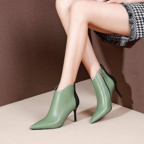 72e9841c23 amp; Da Martins Green Eleganti Evening Stiletto Autunno Donna Single ...