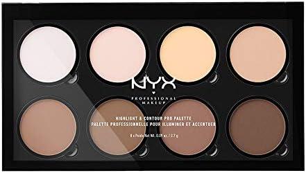 NYX Highlight and Contour Pro Palette: Amazon com: Paris Shop