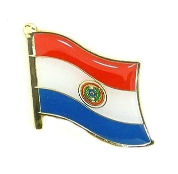Banderas Pin Bandera Paraguay Pins nuevo broche (