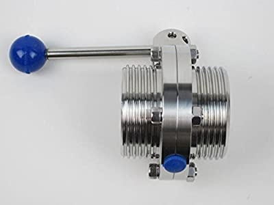 "2"" Butterfly Valve With Threaded Ends by Westco Fitting"