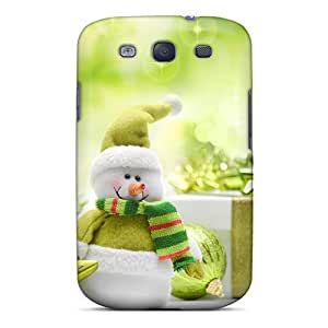 Galaxy High Quality Tpu Case/ Boxes Gifts Holiday Merry Christmas And Happy New Year UZZvdaf7065btjRm Case Cover For Galaxy S3