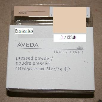 Aveda Inner Light Pressed Powder, 01-Cream shade