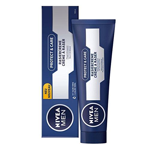 Nivea Men Original Lather Shaving Cream in Tube 3.5oz - (PACK OF 3)