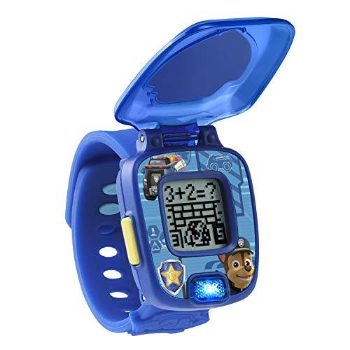 41qi4H9hA L - VTech Paw Patrol Chase Learning Watch, Blue
