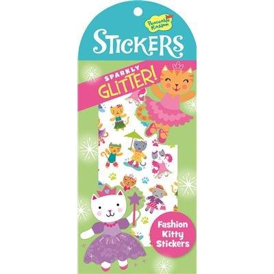 Peaceable Kingdom Fashion Kitty Glitter Sticker Pack