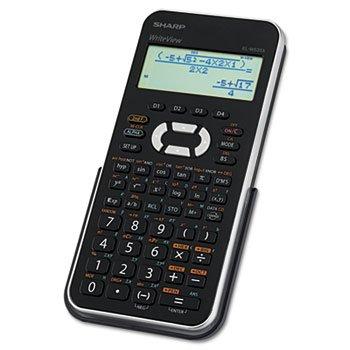 4 Line Display (Sharp EL-W535XBSL Engineering/Scientific Calculator with WriteView 4 Line LCD Display)
