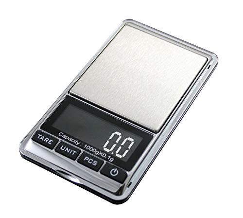 1000g/0.1g Electronic Scale Precision Portable Pocket LCD Digital Jewelry Coin Scales Weight Balance Kitchen Gram Scale Broadheads Grain Scale