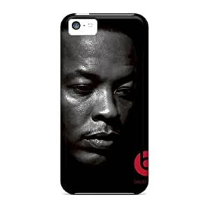 Rosesea Custom Personalized Cases Covers For Iphone 5c Strong Protect Cases - Beats By Dr Dre Design