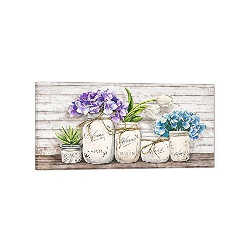 DìMò ART Canvas Print Wall Art Jenny Thomlinson Hydrangeas