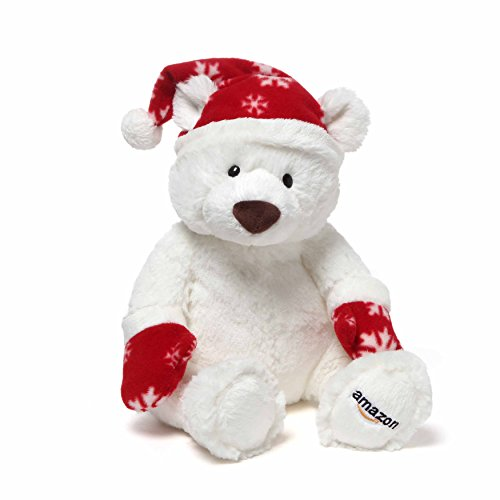 Gund 2016 Amazon Collectible Holiday Teddy Bear Plush (Bear Teddy Christmas Dressed)