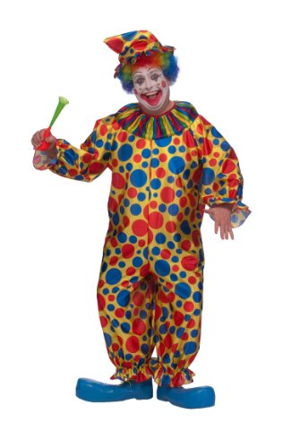 Rubie's Costume Adult Full Cut Clown Costume