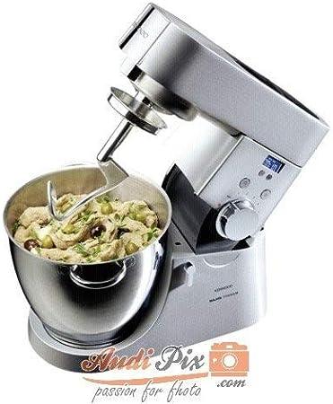 Kenwood Titanium Timer Major KMM040 - Robot de cocina (Plata, Acero inoxidable, Aluminio): Amazon.es: Hogar