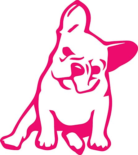 french bulldog decal for mac - 1
