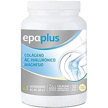 Colágeno, Ácido Hialurónico Y Magnesio Sabor Limón 332 Gr de Epaplus: Amazon.es: Salud y cuidado personal