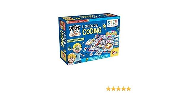 Lisciani Giochi 77113 Juego para ni/ños Im a Genius Happy Coding Robot