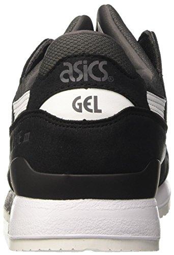 Asics Gel-Lyte III, Scarpe da Ginnastica Basse Uomo Grigio (Dark Grey/White)