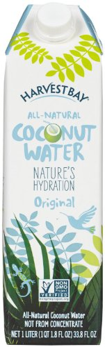 Harvest Bay Coconut Water - Pure - 33.8 oz - 12 - Coconut Water Bay Harvest