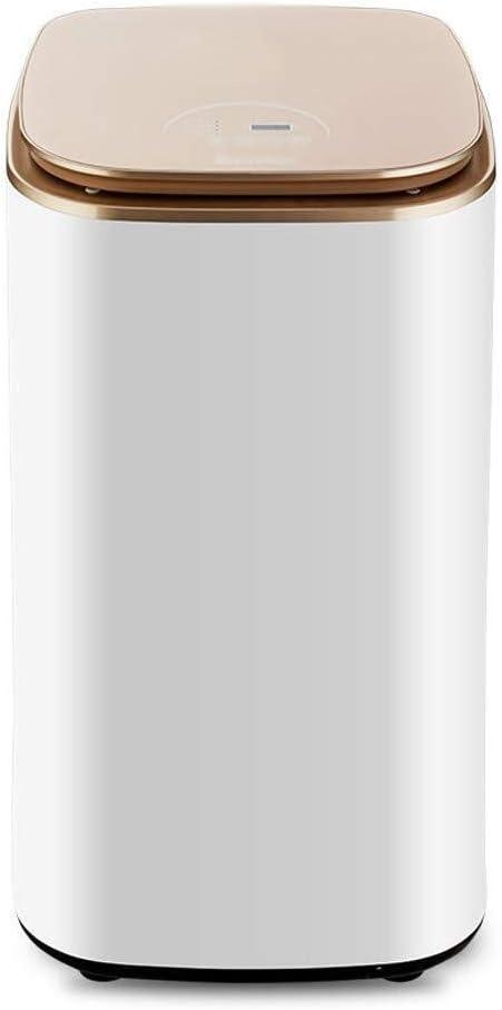 Tendedero electrico Ropa Secadoras Secadora de ropa doméstica pequeña de secado rápido digital inteligente de gran capacidad de 800W Desinfección Hotel Apartamento secadora de ropa ( Color : Oro )