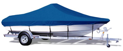 Taylor Made Products Trailerite Semi-Custom Boat Cover for Bay Style V-Hull Center Console Boats with Outboard Motors (19'5