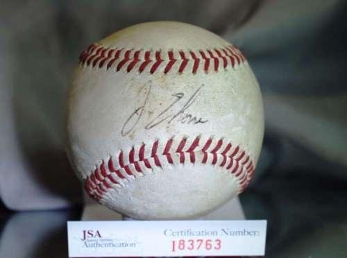 Jim Thome Signed Baseball - EARLIEST EASTERN LEAGUE AUTHENTIC - JSA Certified - Autographed Baseballs - Jim Thome Signed Mlb Baseball