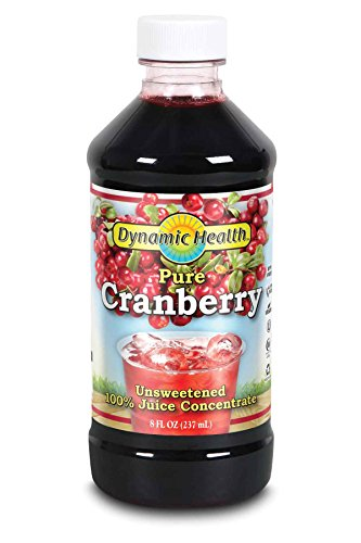 Dynamic Health Pure Cranberry, Unsweetened, 100% Juice Concentrate 8oz