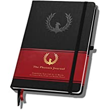 The Phoenix Journal - Best Daily & Weekly Planner for Getting Clear on What You Want, Setting Goals Effectively, Boosting Your Productivity, Taking Action, Transforming Your Life, 12 Weeks, Undated