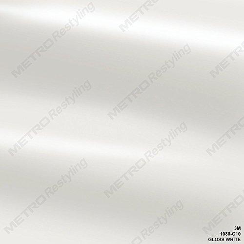 3M G10 GLOSS WHITE Vinyl