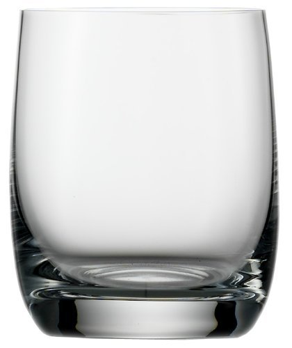 Stolzle Weinland Small Old Fashioned Glass, Set of - Rim Wine Sheer Glass Red