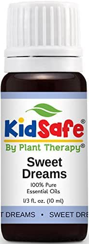 Plant Therapy KidSafe Sweet Dreams Synergy Essential Oil 10 mL (1/3 oz) 100% Pure, Undilated, Therapeutic Grade