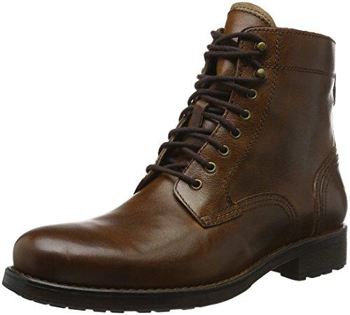 Aldo Etausen, Zapatos de Cordones Derby para Hombre Marrón (Cognac/28)
